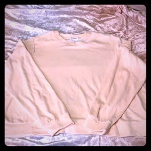 FOREVER21+ 2X Baby Pink Terry Sweater